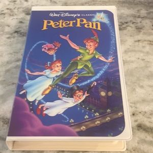 Peter Pan Vhs Diamond Collections use once